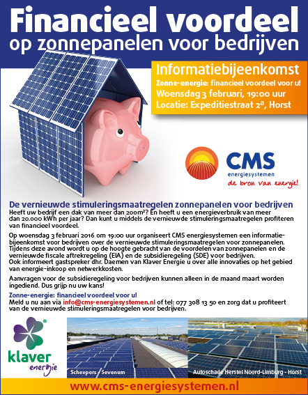 CMS advertentie hallohorst