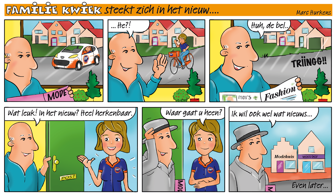 Strip nr28 Familie kwiek